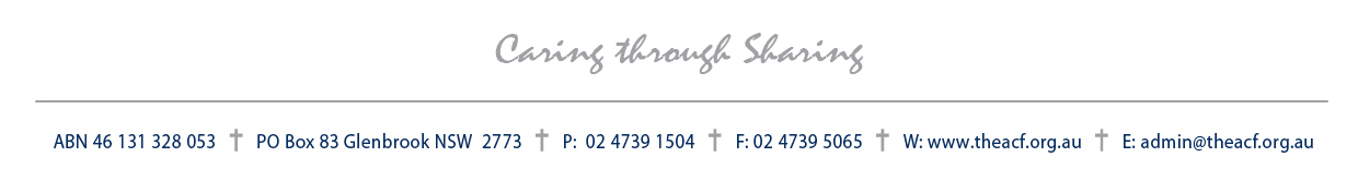 Foundation Letterhead - Footer